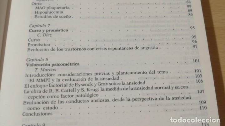 Libros de segunda mano: TRASTORNOS AFECTIVOS: ANSIEDAD Y DEPRESION - J VALLEJO - C GASTO - SALVAT/ PSIQUIATRIAK505 - Foto 17 - 195234865