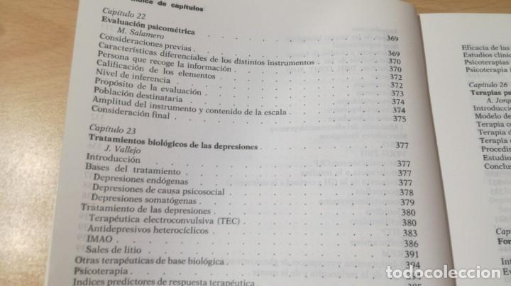 Libros de segunda mano: TRASTORNOS AFECTIVOS: ANSIEDAD Y DEPRESION - J VALLEJO - C GASTO - SALVAT/ PSIQUIATRIAK505 - Foto 31 - 195234865