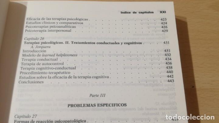 Libros de segunda mano: TRASTORNOS AFECTIVOS: ANSIEDAD Y DEPRESION - J VALLEJO - C GASTO - SALVAT/ PSIQUIATRIAK505 - Foto 33 - 195234865