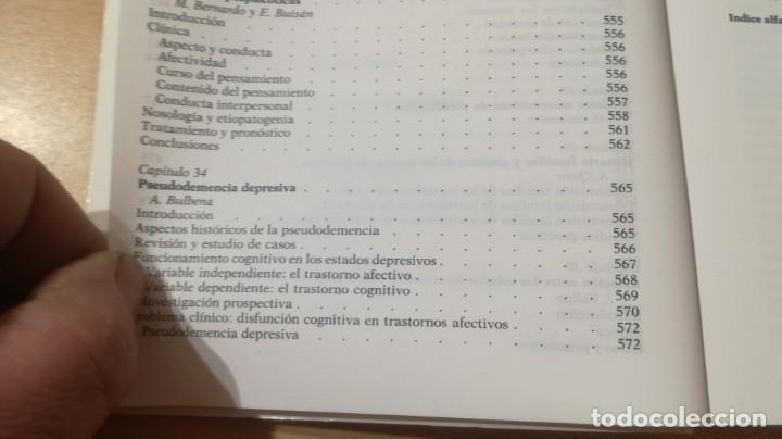 Libros de segunda mano: TRASTORNOS AFECTIVOS: ANSIEDAD Y DEPRESION - J VALLEJO - C GASTO - SALVAT/ PSIQUIATRIAK505 - Foto 37 - 195234865