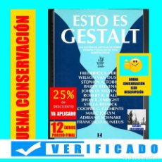 Libros de segunda mano: ESTO ES GESTALT - COLECCIÓN DE ARTÍCULOS SOBRE TERAPIA Y ESTILOS DE VIDA GESTALTICOS - PERLS / OTROS. Lote 195240455