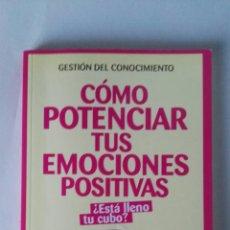 Libros de segunda mano: COMO POTENCIAR TUS EMOCIONES POSITIVAS. Lote 195327963
