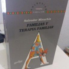 Libros de segunda mano: FAMILIAS Y TERAPIA FAMILIAR - MINUCHIN, SALVADOR. Lote 195329685