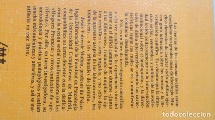Libros de segunda mano: EL PROCESO DE INADAPTACION SOCIAL - JESUS VALVERDE MOLINA - EDITORIAL POPULARK505 - Foto 3 - 195346717