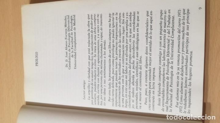 Libros de segunda mano: EL PROCESO DE INADAPTACION SOCIAL - JESUS VALVERDE MOLINA - EDITORIAL POPULARK505 - Foto 8 - 195346717