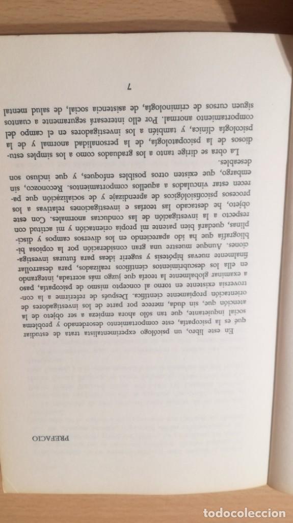 Libros de segunda mano: LA PSICOPATIA - TEORIA E INVESTIGACION- HERDERK505 - Foto 11 - 195346810
