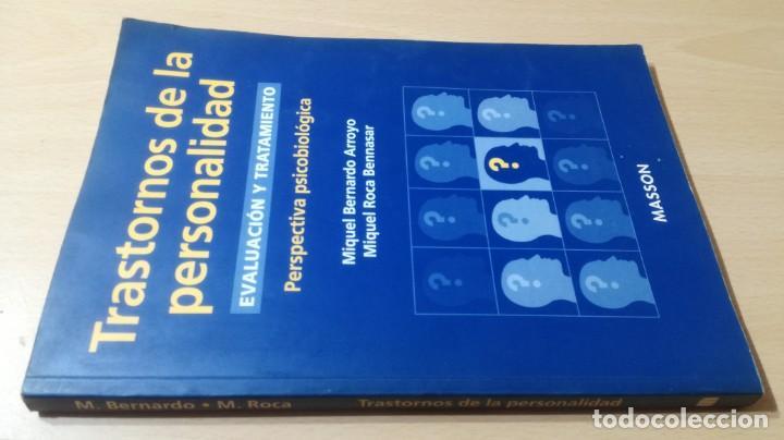 TRASTORNOS DE LA PERSONALIDAD - EVALUACION TRATAMIENTO - PERSPECTIVA PSICOBIOLOGICA - MASSONPSIQUIA (Libros de Segunda Mano - Pensamiento - Psicología)