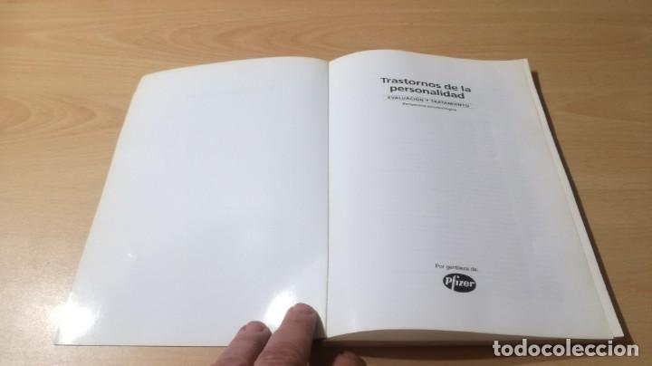 Libros de segunda mano: TRASTORNOS DE LA PERSONALIDAD - EVALUACION TRATAMIENTO - PERSPECTIVA PSICOBIOLOGICA - MASSONPSIQUIA - Foto 3 - 195385596