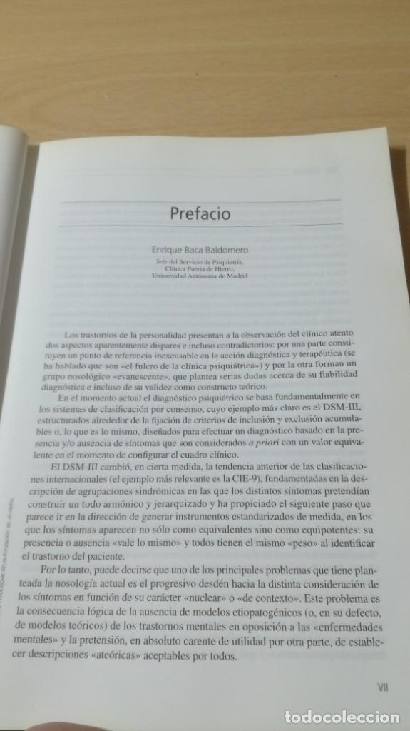 Libros de segunda mano: TRASTORNOS DE LA PERSONALIDAD - EVALUACION TRATAMIENTO - PERSPECTIVA PSICOBIOLOGICA - MASSONPSIQUIA - Foto 6 - 195385596