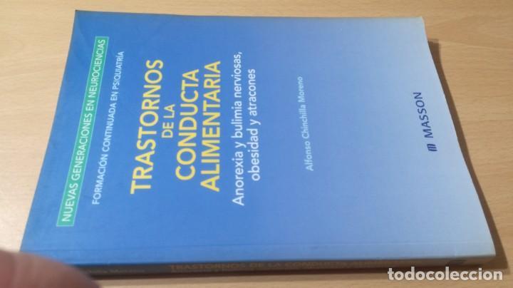 TRASTORNOS CONDUCTA ALIMENTARIA - ANOREXIA BULIMIA OBESIDAD ATRACONES MASSONPSIQUIATRIAK505 (Libros de Segunda Mano - Pensamiento - Psicología)