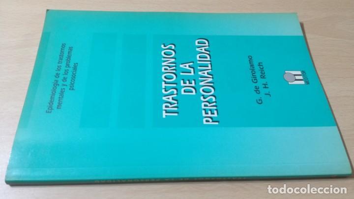 TRASTORNOS DE LA PERSONALIDAD - G DE GIROLAMO / J H REICH - MEDITORPSIQUIATRIAK505 (Libros de Segunda Mano - Pensamiento - Psicología)