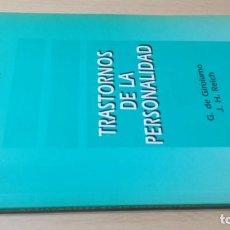 Libros de segunda mano: TRASTORNOS DE LA PERSONALIDAD - G DE GIROLAMO / J H REICH - MEDITORPSIQUIATRIAK505. Lote 195386273