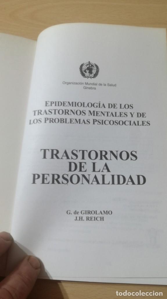 Libros de segunda mano: TRASTORNOS DE LA PERSONALIDAD - G DE GIROLAMO / J H REICH - MEDITORPSIQUIATRIAK505 - Foto 4 - 195386273