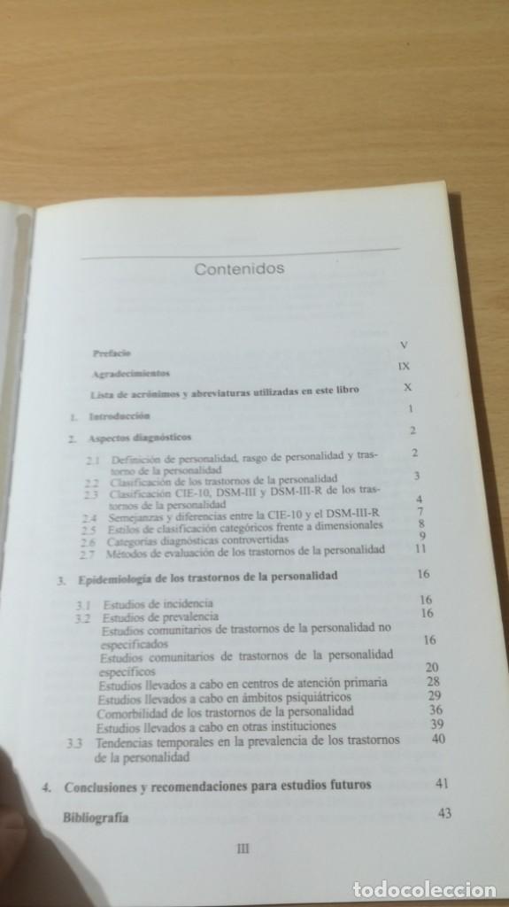 Libros de segunda mano: TRASTORNOS DE LA PERSONALIDAD - G DE GIROLAMO / J H REICH - MEDITORPSIQUIATRIAK505 - Foto 6 - 195386273