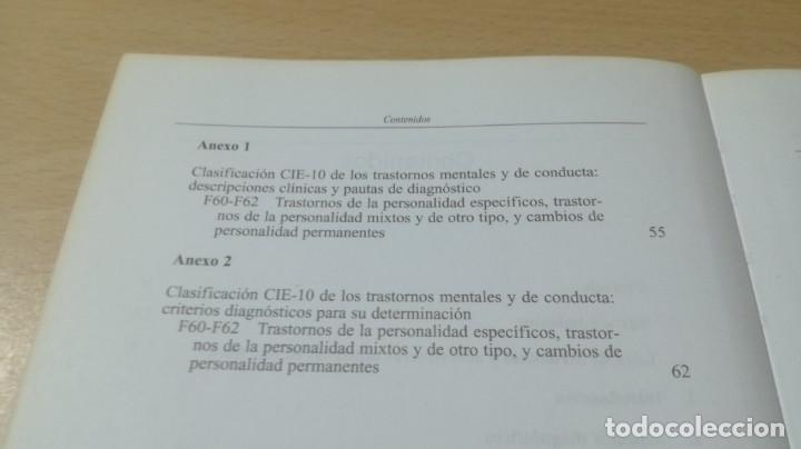 Libros de segunda mano: TRASTORNOS DE LA PERSONALIDAD - G DE GIROLAMO / J H REICH - MEDITORPSIQUIATRIAK505 - Foto 7 - 195386273