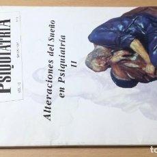 Libros de segunda mano: ALTERACIONES DEL SUEÑO EN PSIQUIATRIA II - ANALES 13 - 3 - 1997M502. Lote 195408937