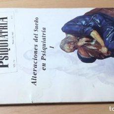 Libros de segunda mano: ALTERACIONES DEL SUEÑO EN PSIQUIATRIA I - ANALES 13 - 2 - 1997M502. Lote 195408991