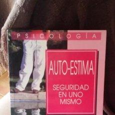 Libros de segunda mano: AUTOESTIMA, SEGURIDAD EN UNO MISMO, DELIA JURGEVIC. Lote 195497303