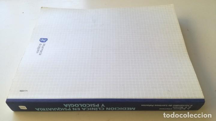 Libros de segunda mano: MEDICION CLINICA EN PSIQUIATRIA Y PSICOLOGIA - A BULBENA / G E BERRIOS / P FERNANDEZ - MASSON - Foto 2 - 195619108