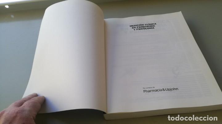 Libros de segunda mano: MEDICION CLINICA EN PSIQUIATRIA Y PSICOLOGIA - A BULBENA / G E BERRIOS / P FERNANDEZ - MASSON - Foto 3 - 195619108