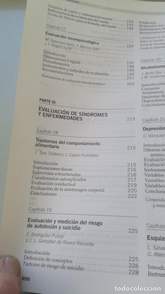 Libros de segunda mano: MEDICION CLINICA EN PSIQUIATRIA Y PSICOLOGIA - A BULBENA / G E BERRIOS / P FERNANDEZ - MASSON - Foto 16 - 195619108