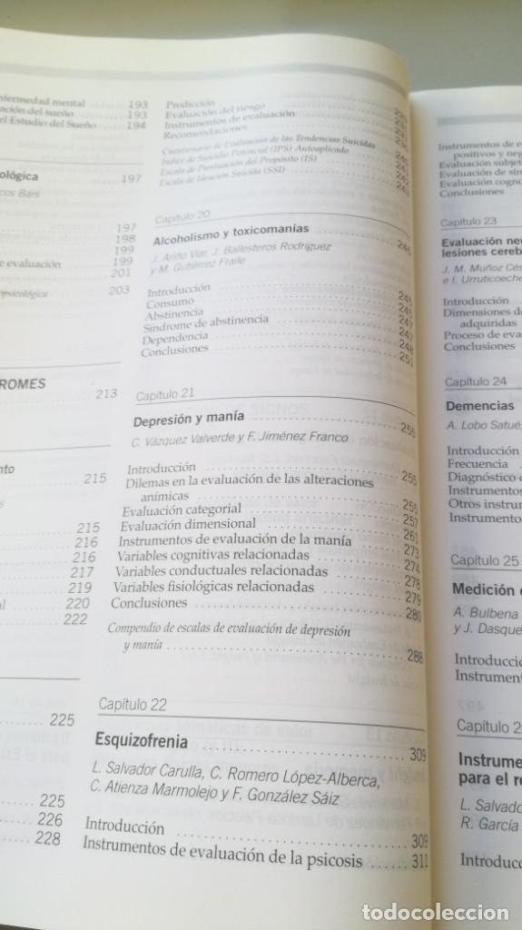 Libros de segunda mano: MEDICION CLINICA EN PSIQUIATRIA Y PSICOLOGIA - A BULBENA / G E BERRIOS / P FERNANDEZ - MASSON - Foto 17 - 195619108