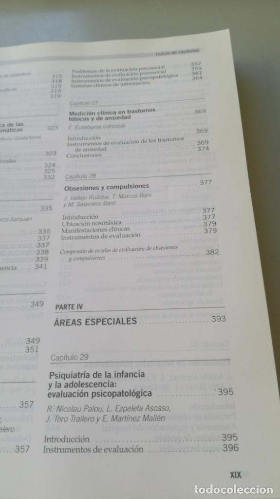 Libros de segunda mano: MEDICION CLINICA EN PSIQUIATRIA Y PSICOLOGIA - A BULBENA / G E BERRIOS / P FERNANDEZ - MASSON - Foto 19 - 195619108