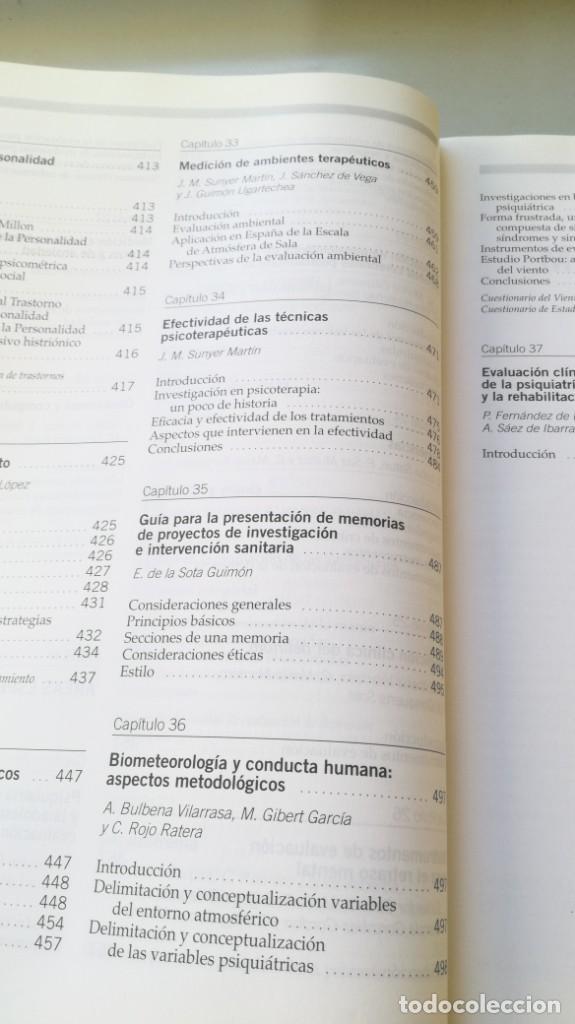 Libros de segunda mano: MEDICION CLINICA EN PSIQUIATRIA Y PSICOLOGIA - A BULBENA / G E BERRIOS / P FERNANDEZ - MASSON - Foto 21 - 195619108