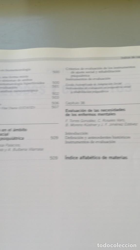 Libros de segunda mano: MEDICION CLINICA EN PSIQUIATRIA Y PSICOLOGIA - A BULBENA / G E BERRIOS / P FERNANDEZ - MASSON - Foto 22 - 195619108