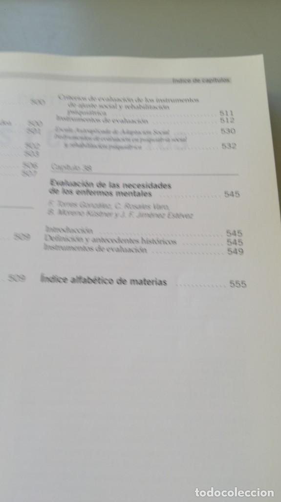 Libros de segunda mano: MEDICION CLINICA EN PSIQUIATRIA Y PSICOLOGIA - A BULBENA / G E BERRIOS / P FERNANDEZ - MASSON - Foto 23 - 195619108