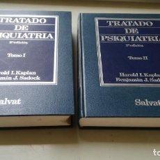 Libros de segunda mano: TRATADO DE PSIQUIATRIA - 2 TOMOS - HAROLD I KAPLAN / BENJAMIN J SADOCK - SALVATZ104. Lote 196240828