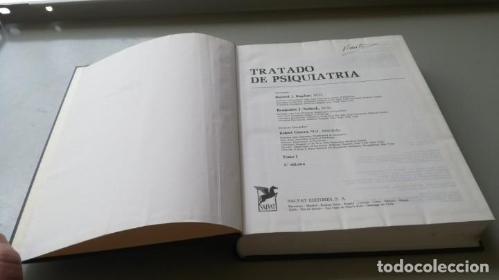 Libros de segunda mano: TRATADO DE PSIQUIATRIA - 2 TOMOS - HAROLD I KAPLAN / BENJAMIN J SADOCK - SALVATZ104 - Foto 6 - 196240828