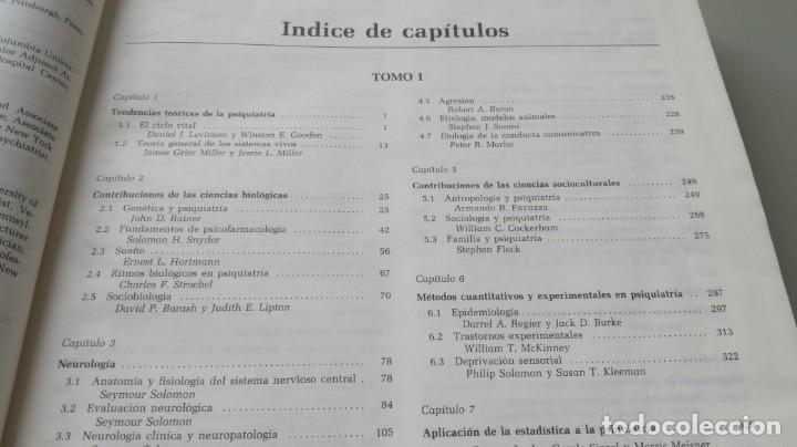 Libros de segunda mano: TRATADO DE PSIQUIATRIA - 2 TOMOS - HAROLD I KAPLAN / BENJAMIN J SADOCK - SALVATZ104 - Foto 10 - 196240828