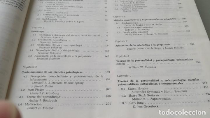 Libros de segunda mano: TRATADO DE PSIQUIATRIA - 2 TOMOS - HAROLD I KAPLAN / BENJAMIN J SADOCK - SALVATZ104 - Foto 11 - 196240828