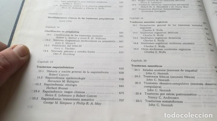 Libros de segunda mano: TRATADO DE PSIQUIATRIA - 2 TOMOS - HAROLD I KAPLAN / BENJAMIN J SADOCK - SALVATZ104 - Foto 13 - 196240828
