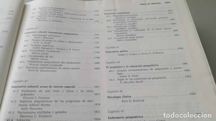 Libros de segunda mano: TRATADO DE PSIQUIATRIA - 2 TOMOS - HAROLD I KAPLAN / BENJAMIN J SADOCK - SALVATZ104 - Foto 18 - 196240828