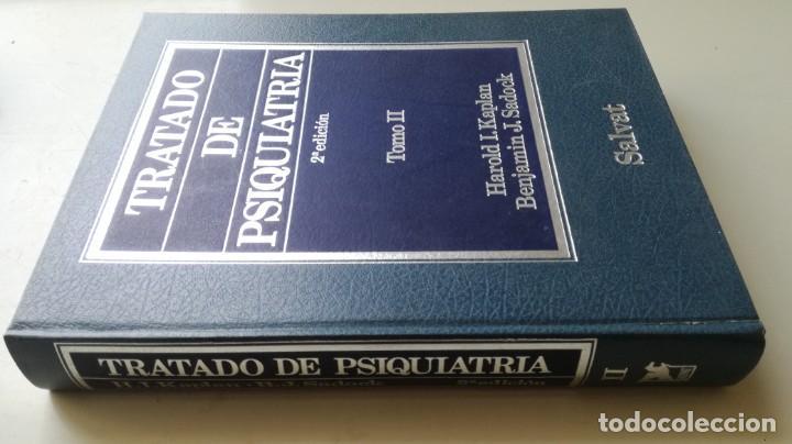 Libros de segunda mano: TRATADO DE PSIQUIATRIA - 2 TOMOS - HAROLD I KAPLAN / BENJAMIN J SADOCK - SALVATZ104 - Foto 21 - 196240828