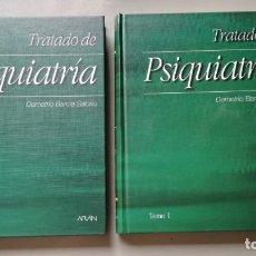 Libri di seconda mano: TRATADO DE PSIQUIATRIA - 2 TOMOS - DEMETRIO BARCIA SALORIO - ARANZ204. Lote 196240866
