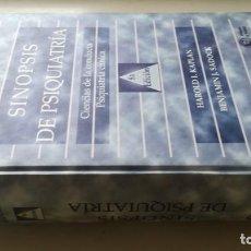 Libros de segunda mano: SINOPSIS DE PSIQUIATRIA - HAROLD I KAPLAN / BENJAMIN J SADOCK - PANAMERICANAZ204. Lote 196241005