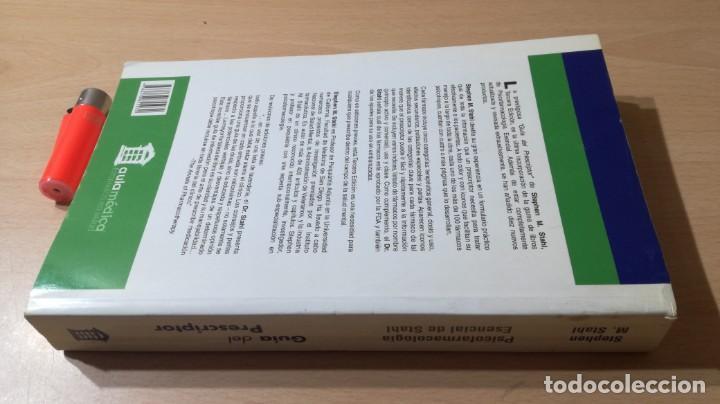 Libros de segunda mano: GUIA DEL PRESCRIPTOR - PSICOFARMACOLOGIA ESENCIAL DE STAHL - AULA MEDICA- PSIQUIATRIALL502 - Foto 3 - 197095338