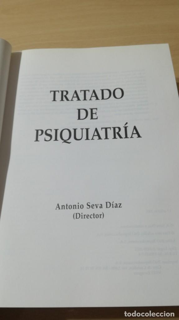 Libros de segunda mano: TRATADO DE PSIQUIATRIA - ANTONIO SEVA DIAZ - DIRECTOR - INO REPRODUCCIONESLL504 - Foto 5 - 197113672