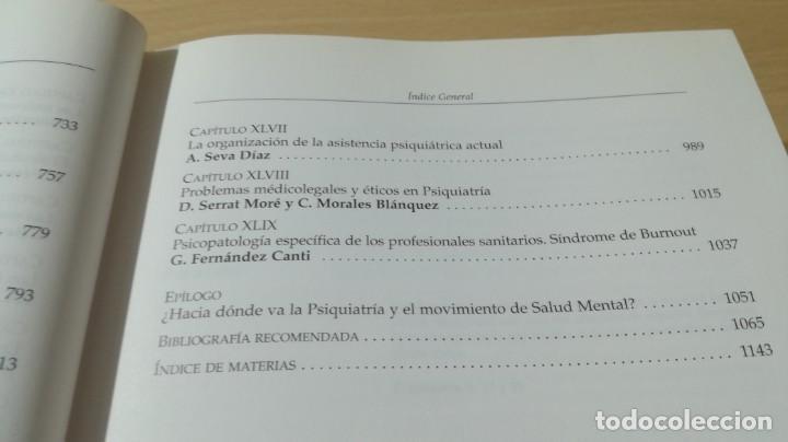 Libros de segunda mano: TRATADO DE PSIQUIATRIA - ANTONIO SEVA DIAZ - DIRECTOR - INO REPRODUCCIONESLL504 - Foto 15 - 197113672
