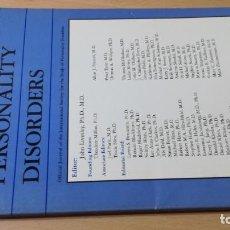 Libros de segunda mano: JOURNAL OF PERSONALITY DISORDERS - EN INGLES - FOTO INDICE - PSIQUIATRIAVOL 11 N 2 1997Ñ-302. Lote 198752783
