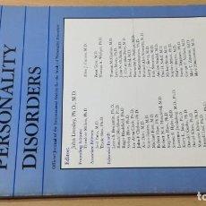 Libros de segunda mano: JOURNAL OF PERSONALITY DISORDERS - EN INGLES - FOTO INDICE - PSIQUIATRIAVOL 11 N 1 1997Ñ-302. Lote 198752821