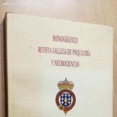 Libros de segunda mano: MONOGRAFICO REVISTA GALLEGA PSIQUIATRIA NEUROCIENCIAS - BORDERLINE - CESARE MAFFEI 2009PSIQUIATRIA. Lote 198753068