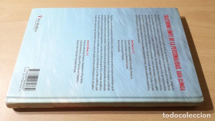 Libros de segunda mano: TRASTORNO LIMITE DE LA PERSONALIDAD - GUIA CLINICA - JOHN GUNDERSONPSIQUIATRIAÓ-204 - Foto 2 - 198769205
