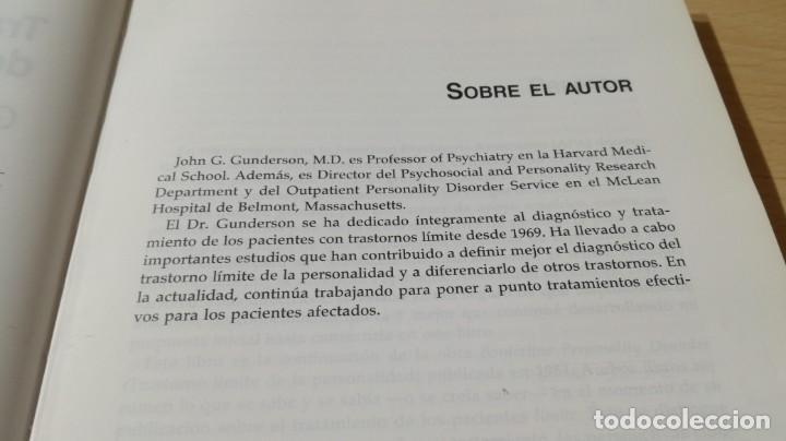 Libros de segunda mano: TRASTORNO LIMITE DE LA PERSONALIDAD - GUIA CLINICA - JOHN GUNDERSONPSIQUIATRIAÓ-204 - Foto 7 - 198769205