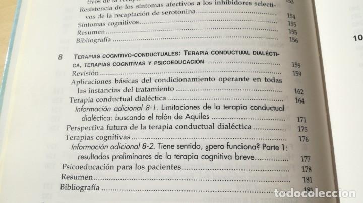 Libros de segunda mano: TRASTORNO LIMITE DE LA PERSONALIDAD - GUIA CLINICA - JOHN GUNDERSONPSIQUIATRIAÓ-204 - Foto 18 - 198769205
