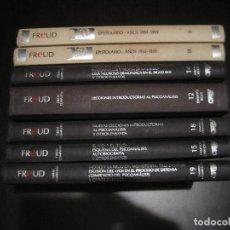 Libri di seconda mano: SIGMUND FREUD - OBRA COMPLETA + EPISTOLARIO. 7 TOMOS. ORBIS. Lote 198827777