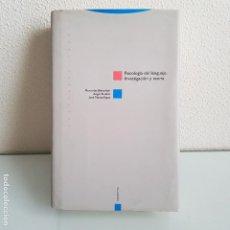 Libros de segunda mano: LIBRO, PSICOLOGÍA DEL LENGUAJE. Lote 199502792